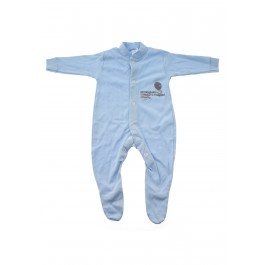 Blue Baby Sleepsuit
