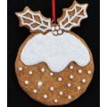 Gingerbread Pudding Decoration