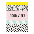 Memphis Good Vibes A5 Notebook