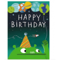 Out of this world, Birthday Card