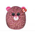 """Lainey Leopard squish-a-boo 14"""""""