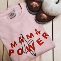 MAMA Power | Pink & Red Jumper