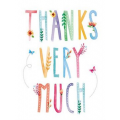 Thank You - Thanks Very Much Card