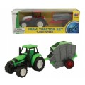 Freewheel Plastic Tractor and Trailer