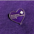 BWH Purple Heart Pin Badge