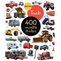 Trucks Re-usable Sticker Book