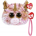 Fantasia Unicorn Wristlet- sequined