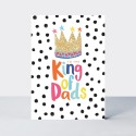 Father's Day Card - Daddio - King of Dads