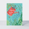 Father's Day Card - Grandad - Watering Can
