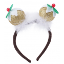 Christmas Pudding Novelty Headband