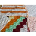 Hand Knitted Blanket - Multi Small