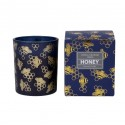 Honey bee candle