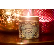 Dreaming So Bright Xmas Candle