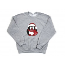 Children's Penguin Christmas Jumper