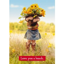 love you a Bunch Mothers Day card