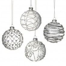 Glass Bauble Set