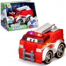 Junior Push And Glow Fire Truck