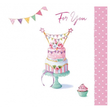 Birthday Cake, Greeting Card