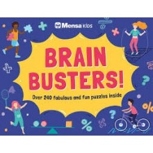 Mensa Kids - Brain Busters!: Over 240 perplexing puzzles inside