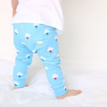 Blue Clouds Leggings