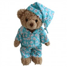 Teddy Bear in Daisy PJS