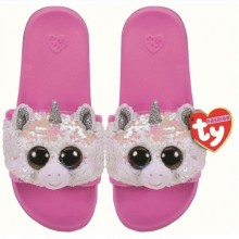 Diamond- Pool Slides Sequin- Medium
