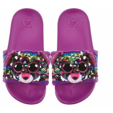 Dotty-Pool Slides Sequin- Medium