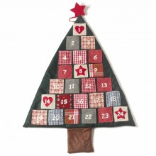 Fabric Christmas Tree Advent
