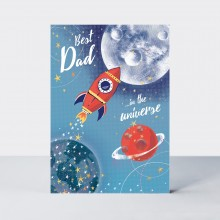 Father's Day Card - Dad / Rocket Space