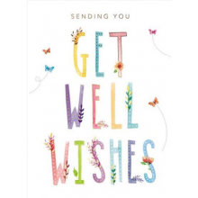 Get Well - Get Well Wishes Card