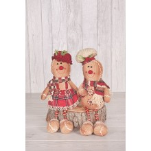 Gingerbread Man and Lady