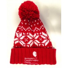 Junior Winter Hat - Red