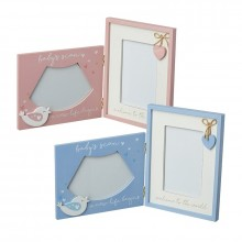 Blue and pink frames mix