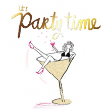 Party Time, Birthday Card