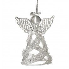 Hanging Glass Angel (crystals)