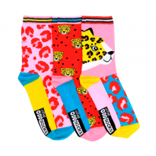 3 Oddsocks - Cheetah