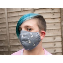 Kids Classic 2 Layer Astronaut Mask