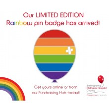 Limited Edition Rainbow Pin Badge