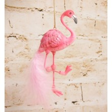 Pink Feather Flamingo Dec