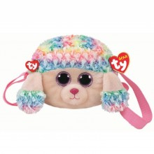 Rainbow Poodle Shoulder Bag