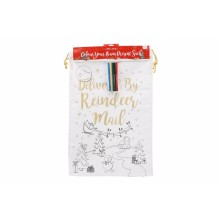 Reindeer Colour in Present Sack