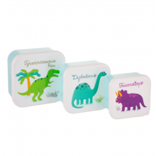 Set of 3 Roarsome Dino Lunch Boxes