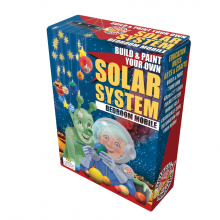 Build & Paint Solar System Mobile