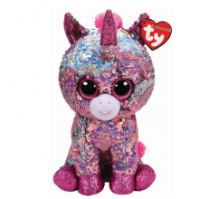 Sparkle Pink Unicorn Flippable- Medium