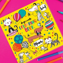 Dog And Cat Colouring Book