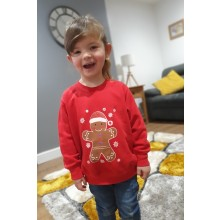 Children's Gingerbread Jumper