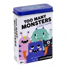 Tin card game - Too many monsters
