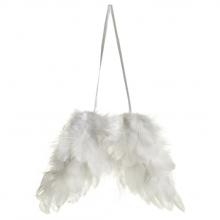 White Feather Hanging Wings