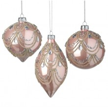 Pink And Silver Hanging  (1 Decoration)