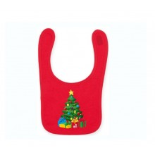 Christmas Xmas Tree Bib